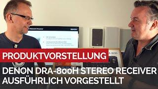 STEREO Receiver mit DAB+, HDMI und HEOS - DENON DRA 800 H jetzt ausführlich vorgestellt