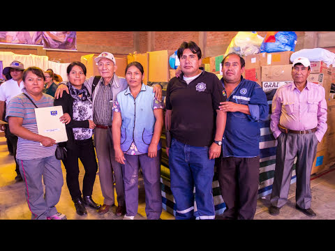 Mano a Mano collects donated supplies in Minnesota and ships them to Bolivia, where they are distributed to people and organizations in need throughout the country.