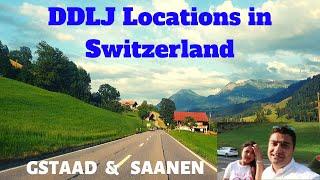 Saanen | Gstaad | DDLJ locations in Switzerland | Zweisimmen | Yash Chopra Statue in Interlaken
