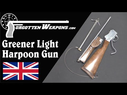 Greener Harpoon Gun - Yes, the One From Jaws