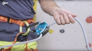 Climb Safe: How To Belay With The Grigri