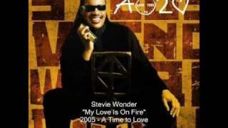 Stevie Wonder - My Love Is On Fire