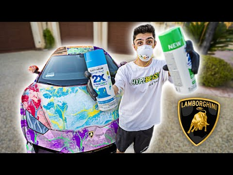 I Hydro Dipped My Lamborghini... **satisfying**