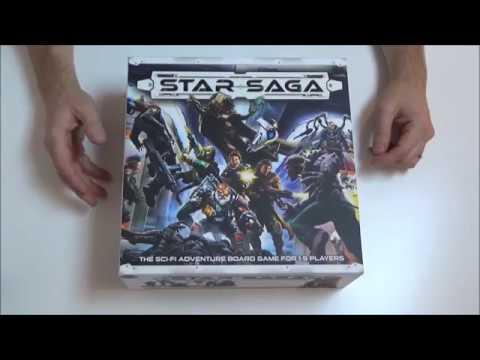 Unboxing of Star Saga (Retail version)
