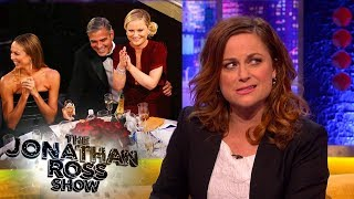 Amy Poehler Found Herself On George Clooney At An Awards Ceremony | The Jonathan Ross Show