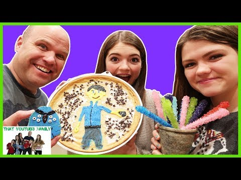 Decorating Giant Cookies! Who Is Best? / That YouTub3 Family