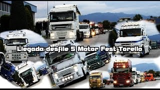 preview picture of video 'Catalonia Truck Photos | Llegada Desfile 5 Motor Fest Torello'