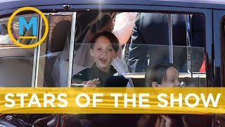 Ben Mulroney dishes on how much fun his kids had on Prince Harry and Meghan's big day