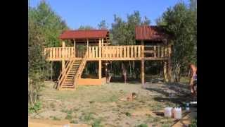 Наша детская площадка почти готова!