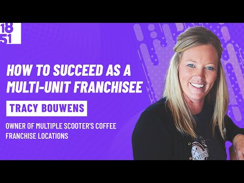 , title : 'How to Succeed as a Multi-Unit Franchisee: Tracy Bouwens, Scooter's Coffee