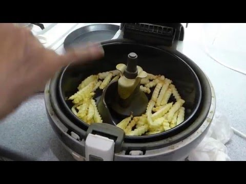 How to cook real chips in the Tefal Actifry