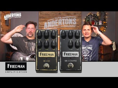 Friedman BE OD & Sir Compre Pedal Demo
