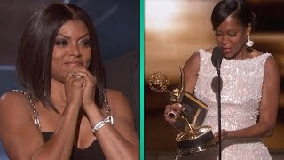 Gambar cover Taraji P. Henson Freaks Out Over Regina King's Emmy Win -- And It's AMAZING.