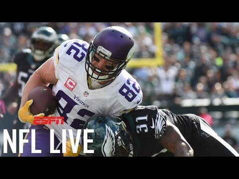 Picking the NFC Championship Game: Vikings or Eagles? | NFL Live | ESPN