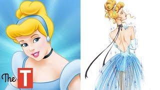 If Disney Princesses Wore Designer Clothes