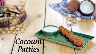 Stuffed Coconut Patties & Khopra Patties