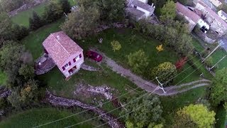 TBS Discovery Pro - smooth, FPV flight over French village