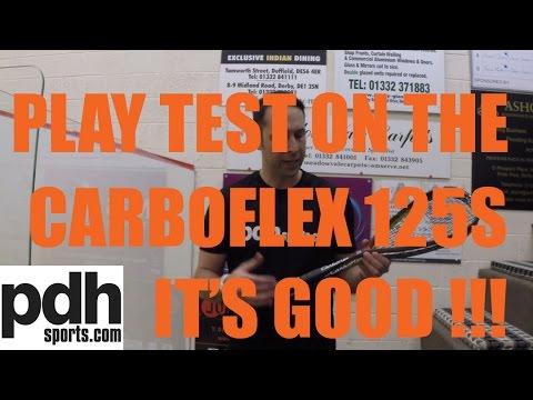 NEW Tecnifibre Carboflex 125 S Squash 2015 racket review by PDHSports.com