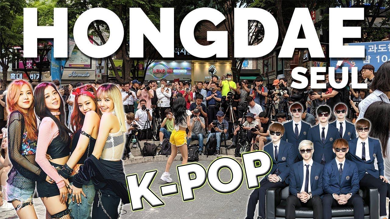 Un día en Hongdae entre K-PoP y K-Beauty | Corea del Sur #3