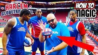 6 Magic Basketball Tricks ft. The Harlem Globetrotters