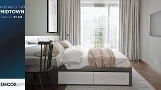 Mẫu thiết nội thất căn hộ Midtown 80m2 - Quận 7