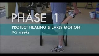 Knee Replacement Surgery Exercises | Knee Replacement Recovery | Phase 1