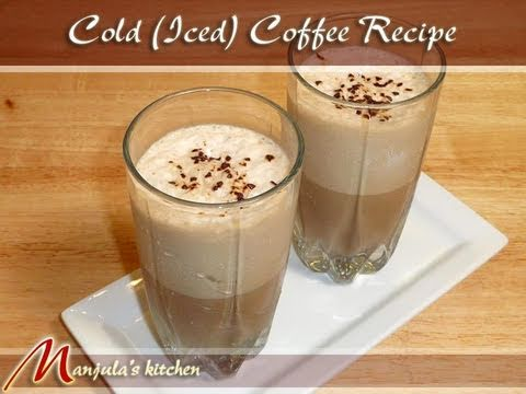 Video Cold Coffee (Iced Coffee) Drink Recipe by Manjula