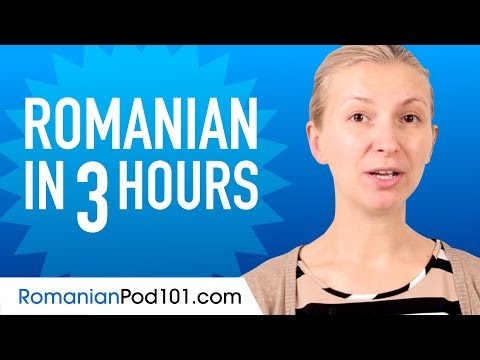Learn Romanian in 3 Hours - ALL the Romanian Basics You Need