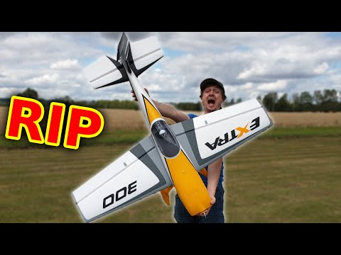 NOOB vs Giant RC Stunt Plane - What Can Possibly Go WRONG???