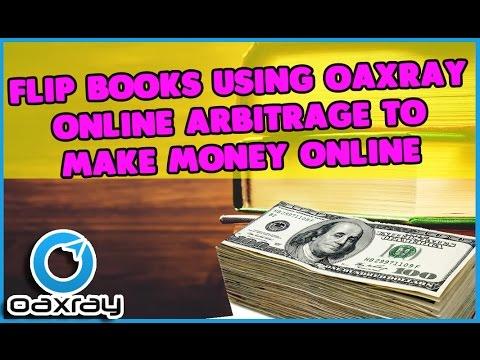 Flip Books using Oaxray Online Arbitrage for Amazon Fba