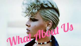 Pink   What About Us (The Official Music Audio)
