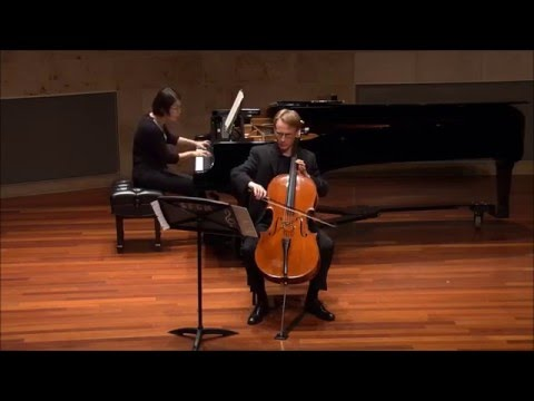 Debussy Sonata, Prologue: Lent, sostenuto e molto risoluto  Sol Joseph Recital Hall, San Francisco Conservatory of Music