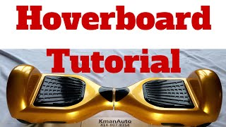 Hoverboard Beginners Guide: Unboxing, Setup & First Ride