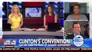 Phillip talks Hillary, Bernie, & Day 1 of the DNC in Philadelphia | FOX & Friends First