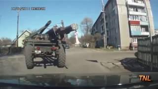 Какво е чувството да караш по руските пътища !!!