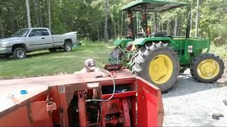 tractor broke again