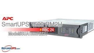 RBC24 Battery Replacement for APC SmartUPS 1500 RM2U