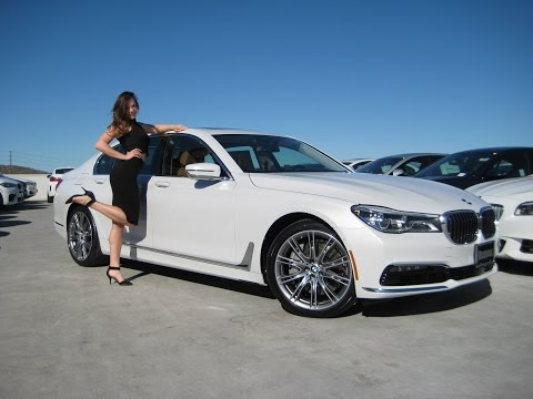 """NEW BMW 750i with 20"""" Individual Wheels / BMW 750xi Review / BMW 7 series"""