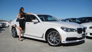 "NEW BMW 750i with 20"" Individual Wheels / BMW 750xi Review / BMW 7 series"