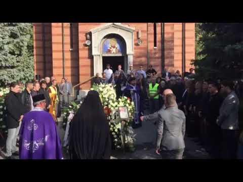 Novo Groblje, sahrana Milene Dravić 19.10.2018.