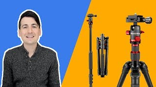 MOUNTDOG Camera Tripod for DSLR Review // Tripod With Built In Monopod
