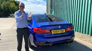 Tony Bought His Favourite Car! | BMW M5 Competition