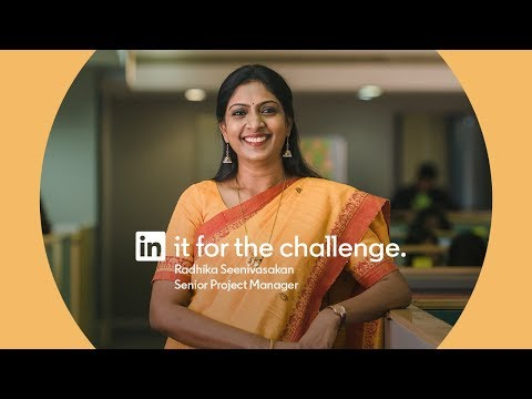 Radhika Seenivasakan: In it for the challenge