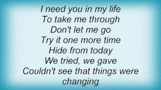 Fefe Dobson - Don't Let Me Fall Lyrics