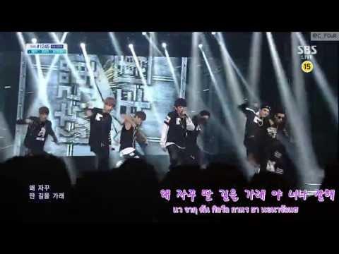 [KARAOKE/THAISUB]130616 BTS - No More Dream (Inkigayo live ver.)