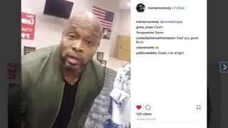 Comedian Steve Brown explains altercation with crazed man at the Comedy House