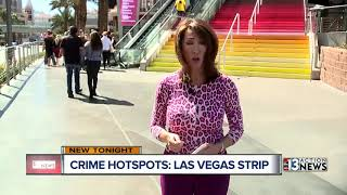 Top 10 crime hot spots on the Las Vegas Strip