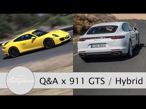 Porsche 911 GTS / Panamera Hybrid: Eure Fragen - Fabian antwortet (Allrad, Reichweite) - Autophorie