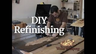 3  DIY Refinishing