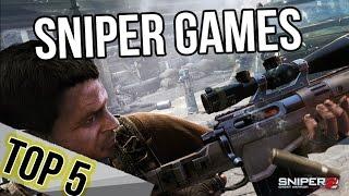 Top 5 Best ►Sniper◀ Games